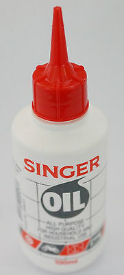 Singer Sewing Machine Oil 100mL All Purpose, Industrial, Domestic, Car & Home