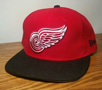 15b41913842 Detroit Red Wings NewEra NHL Basic 2Tone 9FIFTY Snapback Cap Hat New  without tag