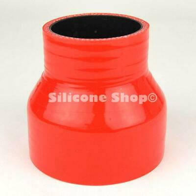 Universal Orange Silicone Straight Reducing Joiner Hose SELECT SIZE Black Core