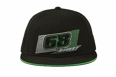 Arctic Cat Youth 68 Hibbert Flat Brim Hat / Cap - Black / Green 5263-077