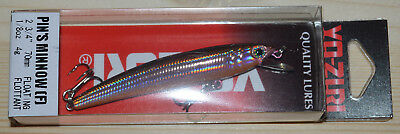 ARTIFICIALE LURES YO-ZURI DUEL PIN'S MINNOW SW F197 70mm - 4gr F col. CKCB -Y156