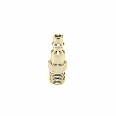 """STAINLESS STEEL 1/4"""" NPT Air Compressor Male Quick Connect Hose Fitting Plug"""