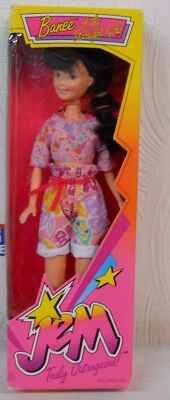 Vintage 1987 Hasbro Jem Truly Outrageous Banee Of The Starlight Girls Brand New