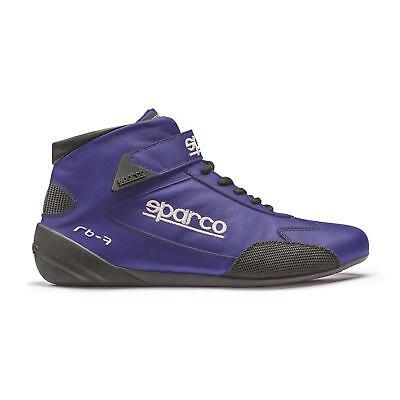 Sparco Cross RB-7 Racing Shoes, Red, Size 7