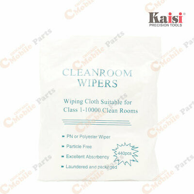 200pcs Dirt Wipe Cleaning Room Cloth for Smartphone LCD Touch Refurbishment