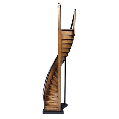 Lighthouse Steps Staircase Architectural 24' Wooden Model By Authentic Models