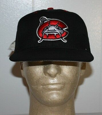 Pro Line Pittsburgh Pirates Carolina Mudcats Fitted Hat Cap