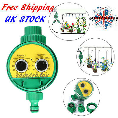 Automatic Electronic Watering Irrigation System Tool Water Timer Garden Plant Sa