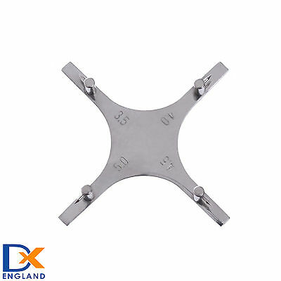 Bracket Positioning Orthodontic Dental Star Like Gauge For Posterior Teeth Lab