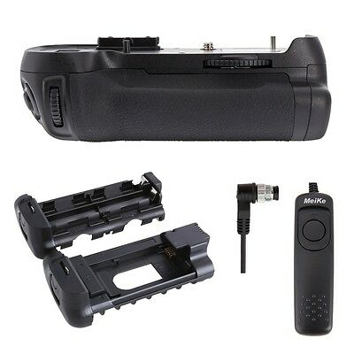 Meike MK-D800 Battery Grip for Nikon D800 D810 D800E as MB-D12 + Shutter Release