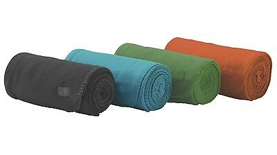 Easy Camp Portable Camping Fleece Blanket - Size: 170 x 130 cm - RRP £11.49