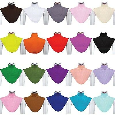 Free Shipping Islamic Muslim Clothing Hijab Neck Covers Collar For Women