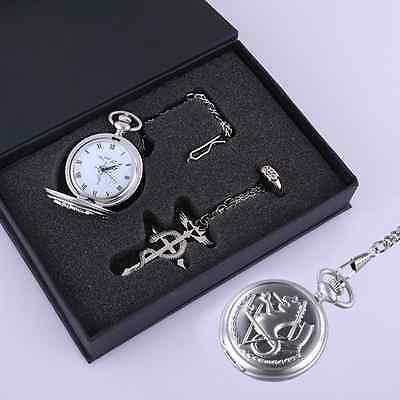 FullMetal Alchemist Cosplay Accessories Anime Collectibles Watch/Necklace/Ring