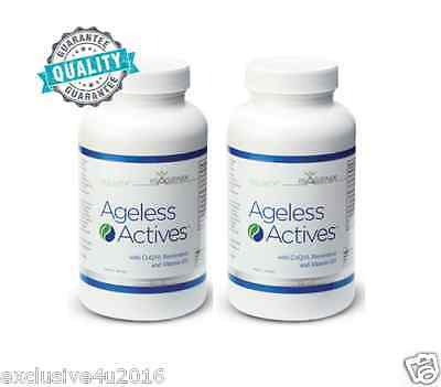 Isagenix 2* AGELESS ACTIVE Reveal a new you FREE STD POST 35% VALUE DISCOUNT