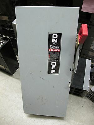 GE TH4323 100 Amp 240 Volt FUSIBLE Disconnect, Model 10