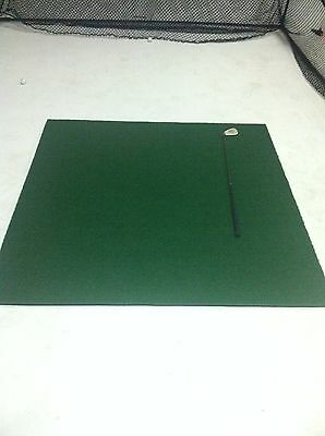 GOLF DRIVING MAT - FAIRWAY style - Commercial 150 x 150 - synthetic golf grass