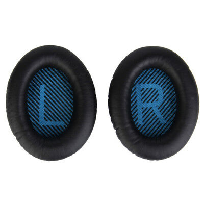 Replacement Headphone Ear Cushion Earpads Cover for Bose QC25 1Pair Black