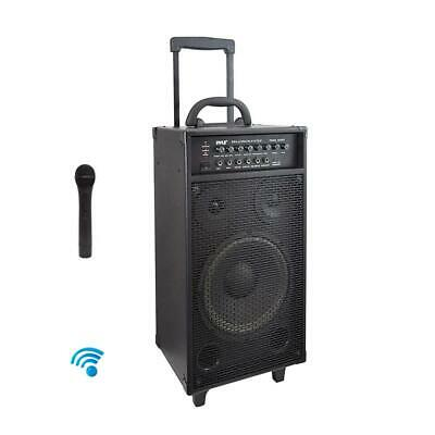 Pyle PWMA1050BT 800W Wireless Portable Bluetooth PA System with Microphone