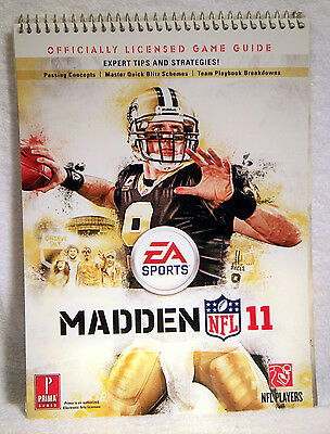 EA Sports Madden 11 NFL Officially Licensed Game Guide w/Tips & Strategies!