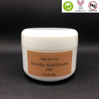 Glycolic Acid 20% AHA Strong Bleaching Peeling Cream BUY 2 GET 1 FREE!