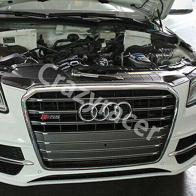 SQ5 Style Chrome Frame Front Bumper Grille Grill for Audi Q5 SQ5 2013-2015