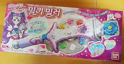 YES PRECURE 5 PRETTY CURE MILKY MIRROR COSPLAY ROD STICK WAND BANDAI Korea NEW