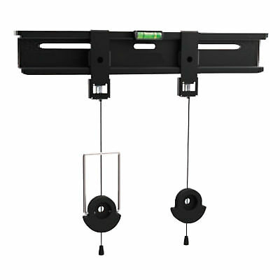 Low Profile Fixed TV Mounting Bracket 11mm Profile 26-55 TVs Max 45kg [008003]