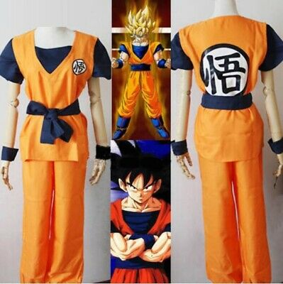 Dragon Ball Z Goku Cosplay Costume Dragonball Z Gohan Fancy Dress Size S-XXL