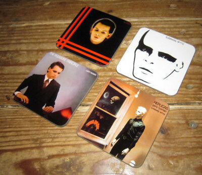 Gary Numan Album Cover COASTER Set