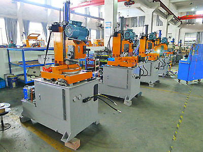 """Heavy Duty Metal Pipe Cutting Tool Vertical Cold Cut Off Saw for 4"""" Steel Tube"""