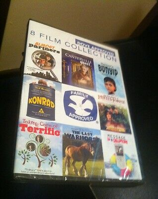 Dove 8 Film Collection DVD(2 Disc Set)**New**