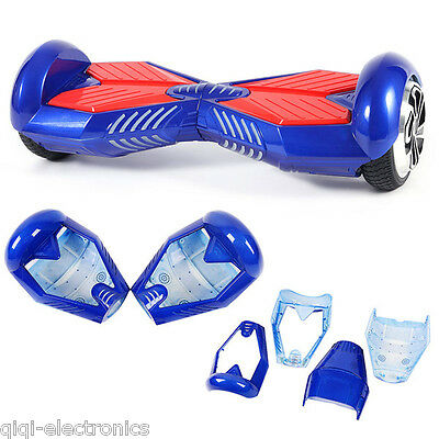 "Blue Outer Shell Cover Parts for 6.5"" Self balancing Electric Scooter Hoverboard"