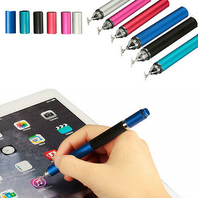2 in 1 Metal Capacitive Touch Screen Stylus Ballpoint Pen for iPad Tablet/Phone