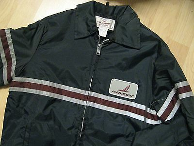 Piedmont Airlines Jacket - Vintage Fashionaire Airport Ramp Uniform Coat Small