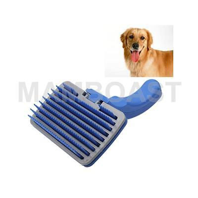 Dog Grooming Hair Brush Self-Cleaning Pet Comb
