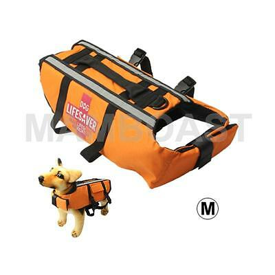 Dog Life Vest Jacket for Swimming Boating Surfing, Size: M