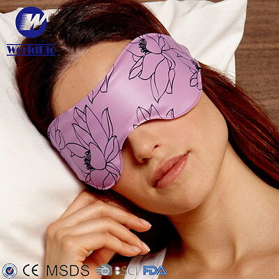 Gel eye mask soothe tired puffy eyes relieve stress tension headaches cold hot