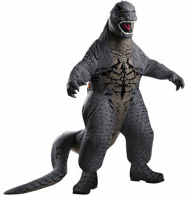 Morris Adult Mens Inflatable Deluxe Monster Godzilla Halloween Costume Outfit