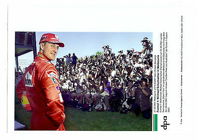 Lot De 6 Photographies Michael Schumacher Fourmule 1 Photo Dpa