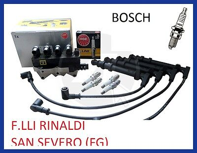 Kit Accensione Bobina Cavi Candele Fiat Multipla 1.6 1600  Natural E Bi- Power