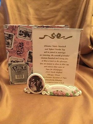 Kim Anderson PAAP Wedding Invitation Holder Promises Love