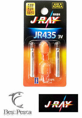 J-RAY - FISHING LED LIGHT JR435 - Ø4,0mm - RED - blister 2pz
