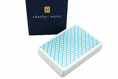 Charity: Water Playing Cards Deck Brand New Sealed