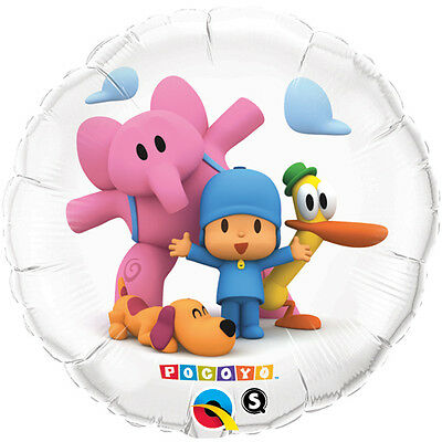 POCOYO & Friends Celebrate Birthday Party Education Learning Mylar Balloon