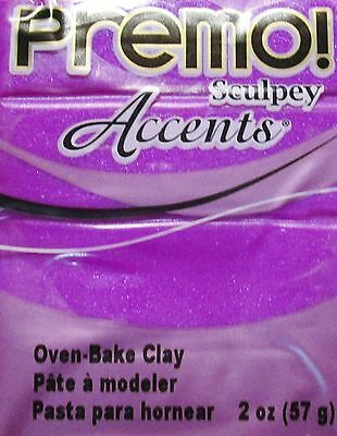 Sculpey PREMO ACCENTS - Polymer Clay - 57g - PURPLE PEARL