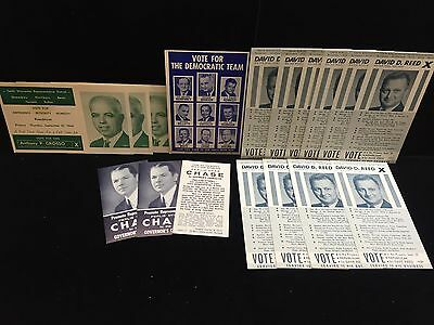 Vintage 1960's 10th Worcester, MA District Local Election Campaign Materials
