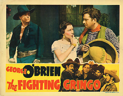 THE FIGHTING GRINGO (1939) Western Lobby Card George O'Brien and Lupita Tovar 2
