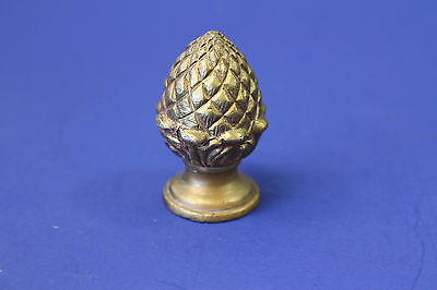 Vintage Style Solid Brass Pineapple Drawer Knob Pull Finial Restoration Original