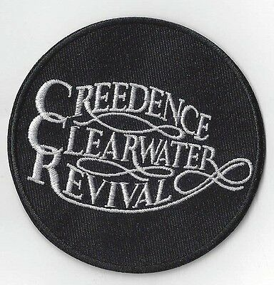 CREEDENCE CLEARWATER REVIVAL    IRON ON PATCH  buy 2 WE SEND THREE