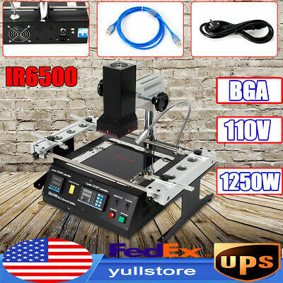 IR6500 SMD Infrared BGA Rework Station IRDA Soldering Welder Preheating Machine